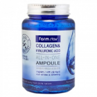 Сыворотка для лица FARMSTAY Collagen & Hyaluronic Acid All-In-One Ampoule