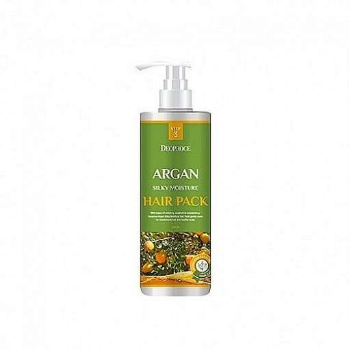 Маска для волос DEOPROCE Argan Silky Moisture Hair Pack