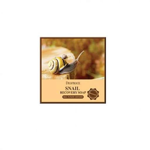 Мыло для лица DEOPROCE Snail Recovery Soap