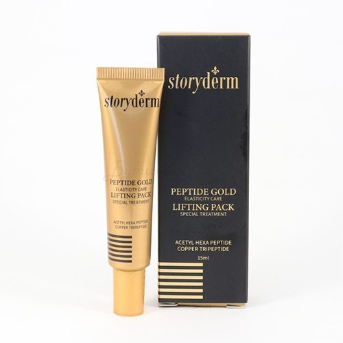 Маска для лица STORYDERM Peptide Gold Lifting Pack
