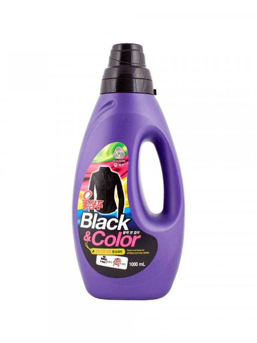 Жидкое средство для стирки Wool Shampoo Black and Color