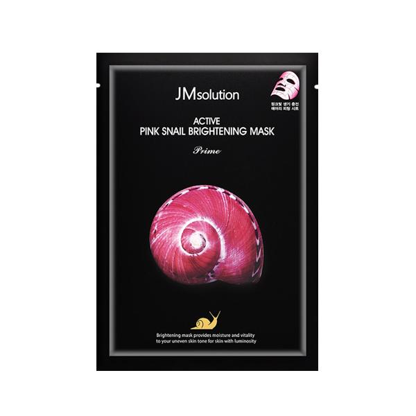 Маска для лица JM SOLUTION Active Pink Snail Brightening Mask