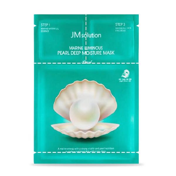 Маска для лица JM SOLUTION Marine Luminous Pearl Deep Moisture Mask