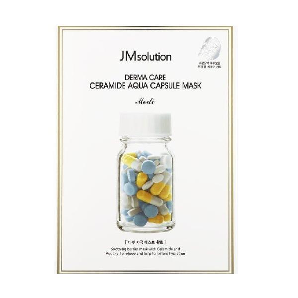 Маска для лица JM SOLUTION Derma Care Ceramide Aqua Capsule Mask