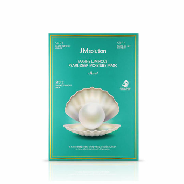 Маска для лица JM SOLUTION Marine Luminous Pearl Hydrogel Mask