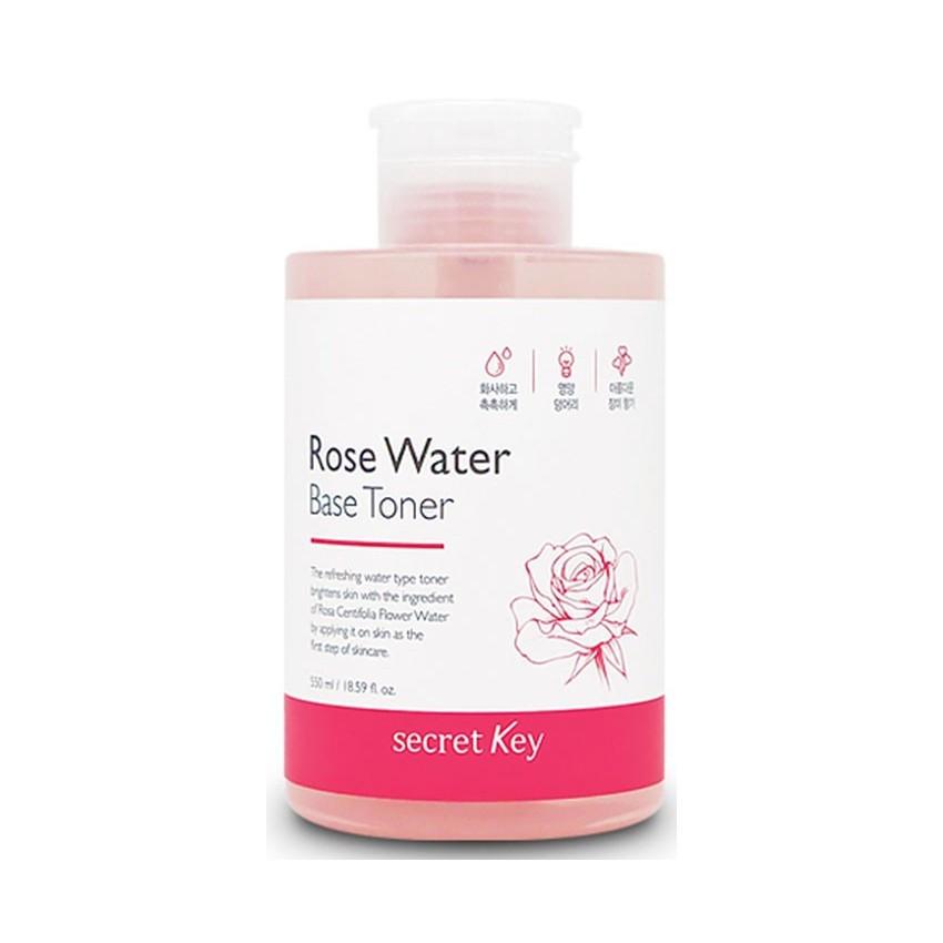 Тоник для лица SECRET KEY Rose Water Base Toner
