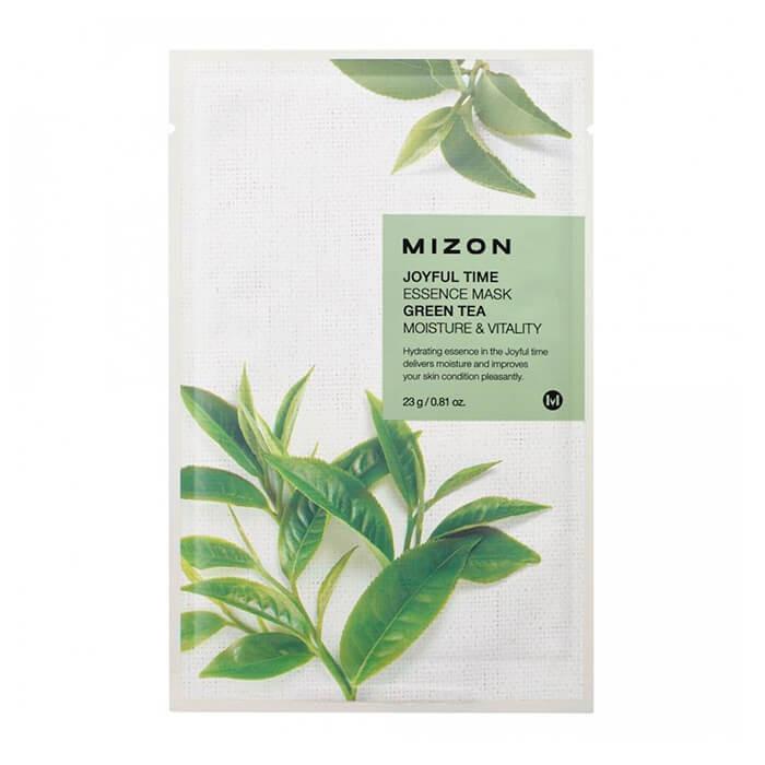 Маска для лица MIZON Joyful Time Essence Mask Green Tea