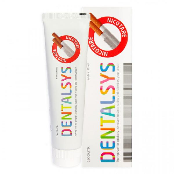 Зубная паста DENTALSYS Nicotare для курильщиков