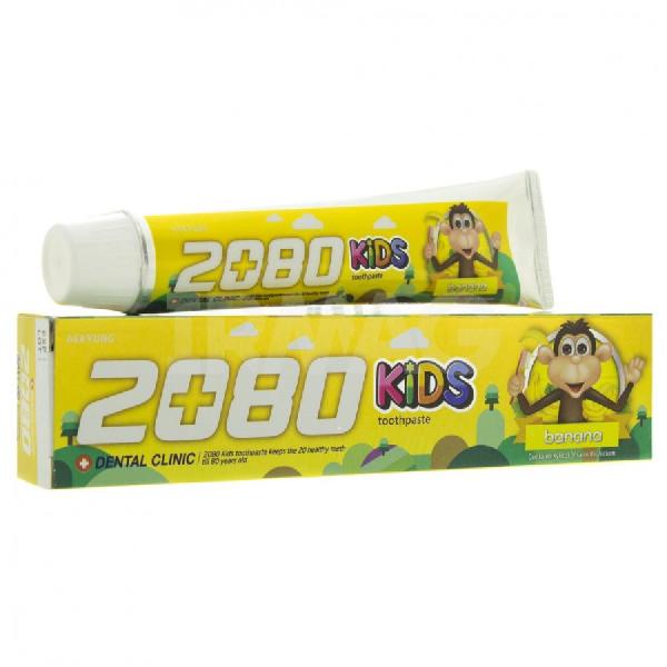 Зубная паста DENTAL CLINIC 2080 Kids Banana