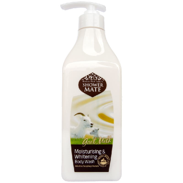 Гель для душа KERASYS Shower Mate Moisturising & Whitening Body Wash Goat Milk