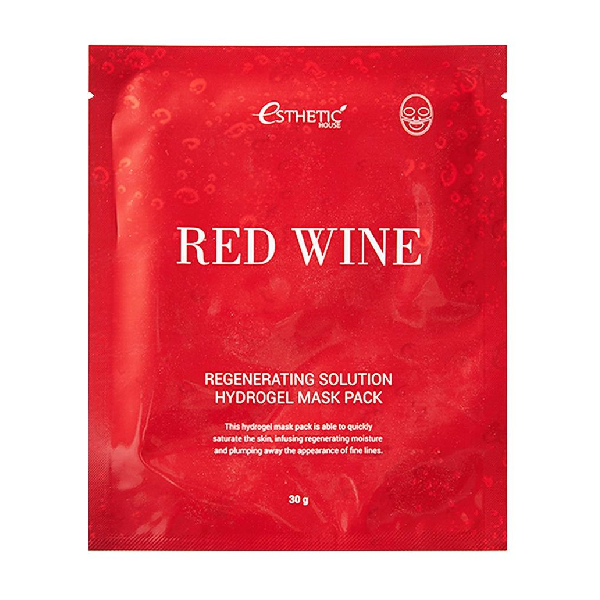 Маска для лица ESTHETIC HOUSE Red Wine Regenerating Solution Hydrogel Mask