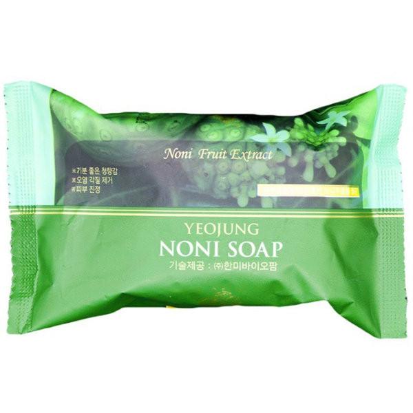 Мыло для лица и тела JUNO Yeojung Noni Peeling Soap