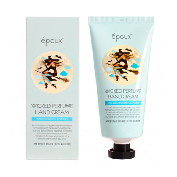 Крем для рук EPOUX Wicked Perfume Hand Cream - White Cotton