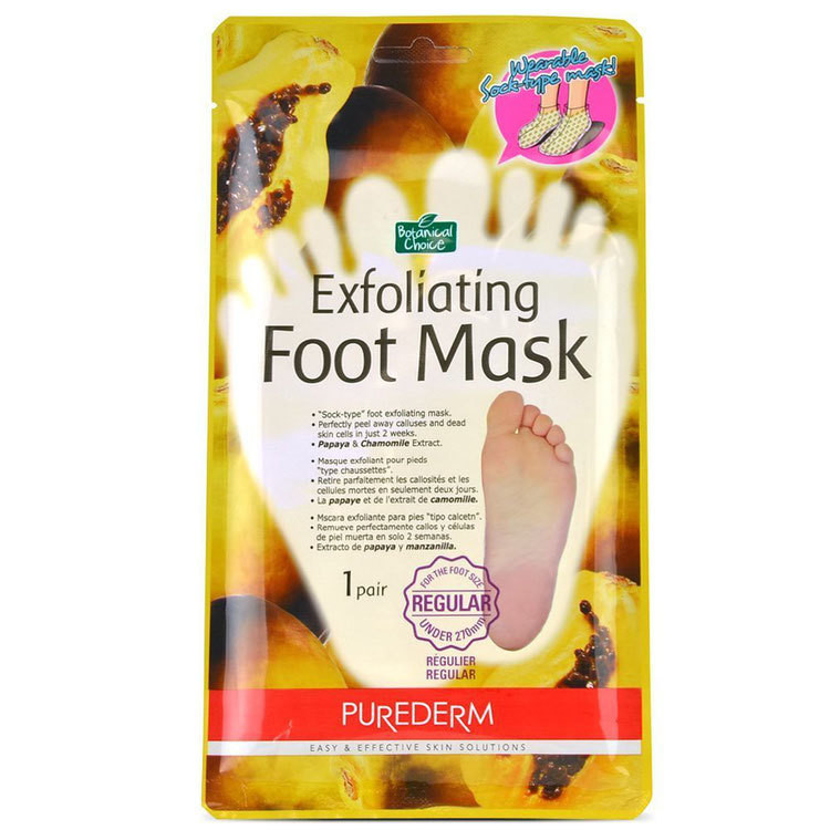 Пилинг-носочки PUREDERM Exfoliating Foot Mask