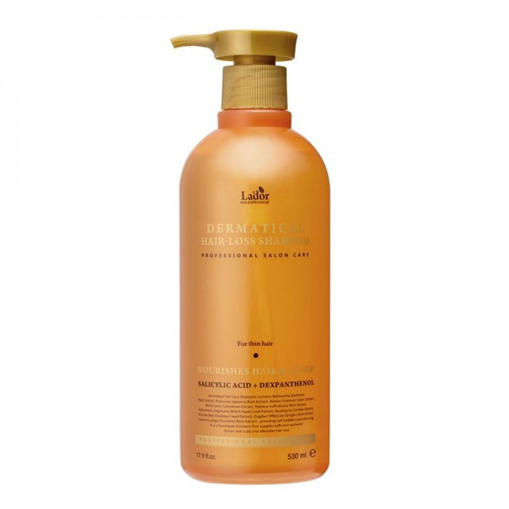 Шампунь для волос LADOR Dermatical Hair Loss Shampoo (FOR THIN HAIR)