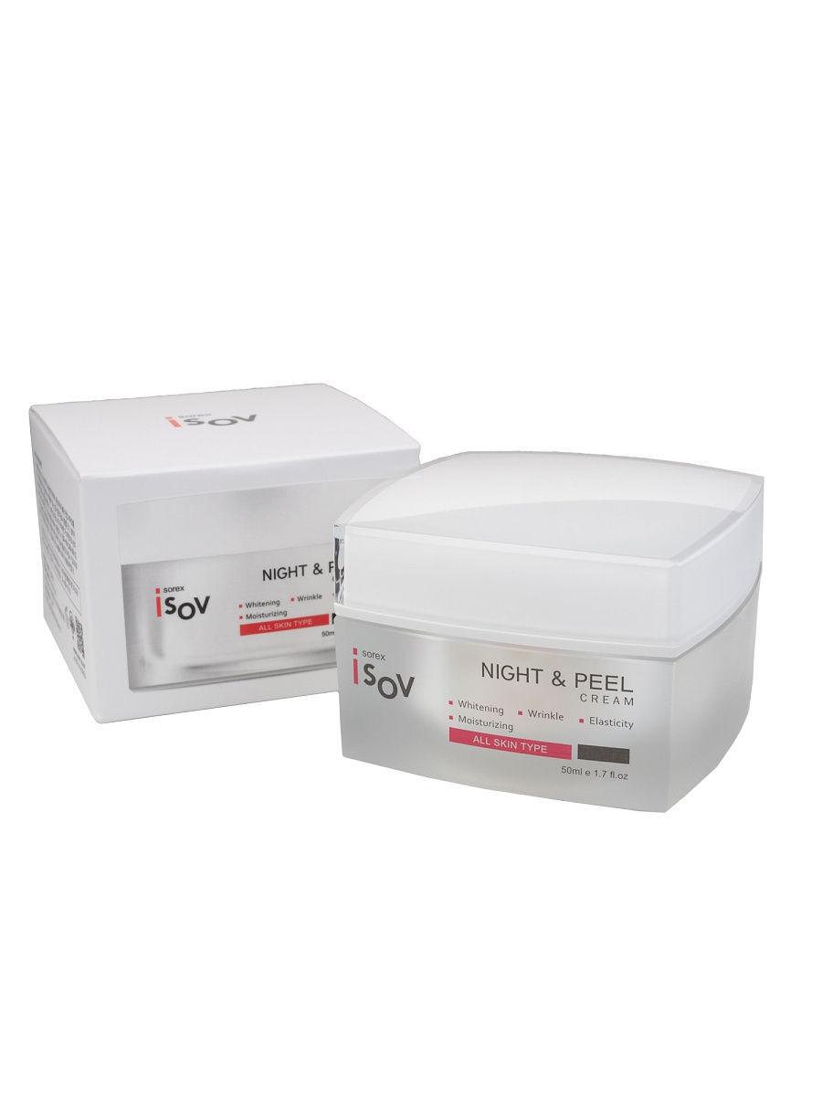 Крем для лица ночной SOREX ISOV Night&Peel Cream