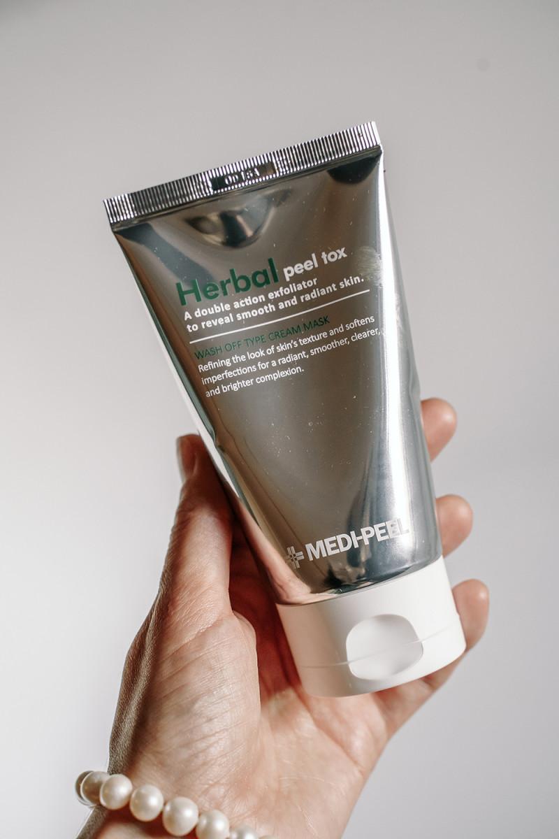 Пилинг-маска для лица MEDI-PEEL Herbal Peel Tox Wash Off Type Cream Mask