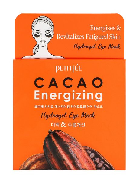 Патчи для глаз PETITFEE Cacao Energizing Hydrogel Eye Patch