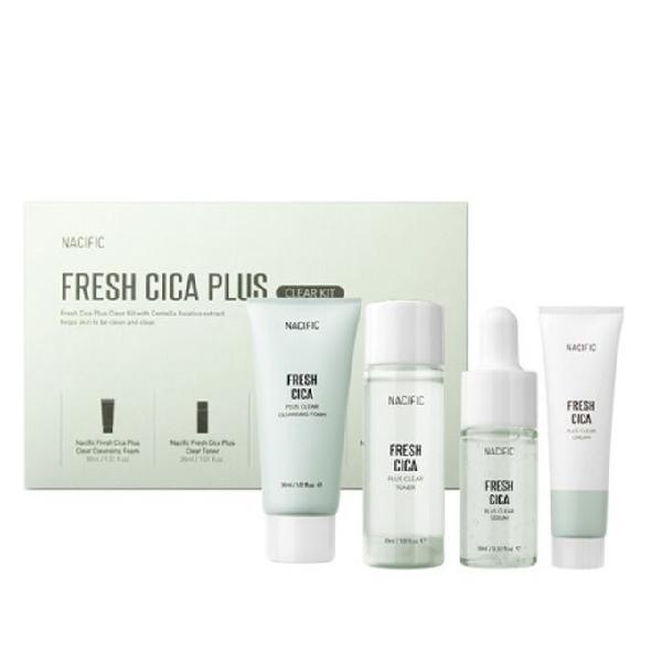 Набор миниатюр NACIFIC Fresh Cica Plus Clear Kit