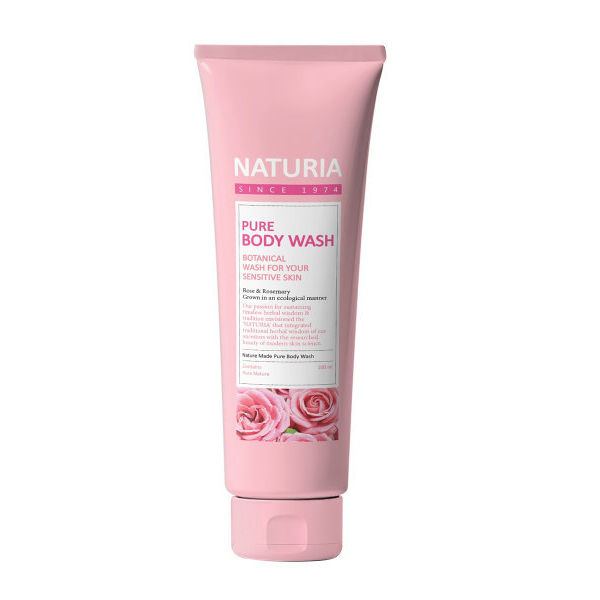 Гель для душа NATURIA Pure Body Wash Rose & Rosemary