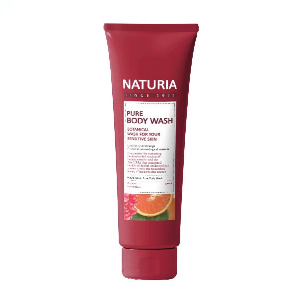 Гель для душа NATURIA Pure Body Wash Cranberry & Orange
