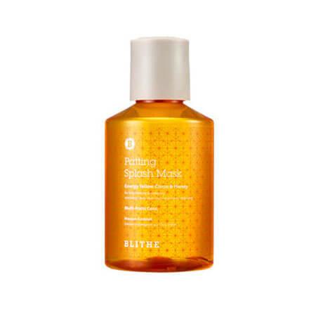 Сплэш-маска BLITHE Energy Yellow Citrus & Honey Splash Mask