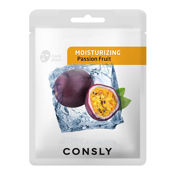 Маска тканевая CONSLY Passion Fruit Moisturizing Mask Pack