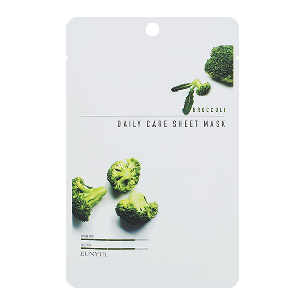 Маска для лица EUNYUL Daily Care Sheet Mask Broccoli