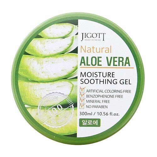 Универсальный гель JIGOTT Natural Aloe Vera Moisture Soothing Gel