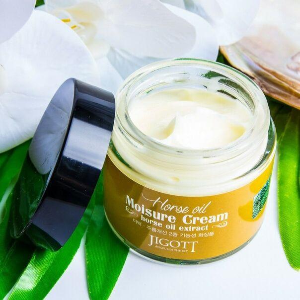 Крем для лица JIGOTT Horse Oil Moisture Cream