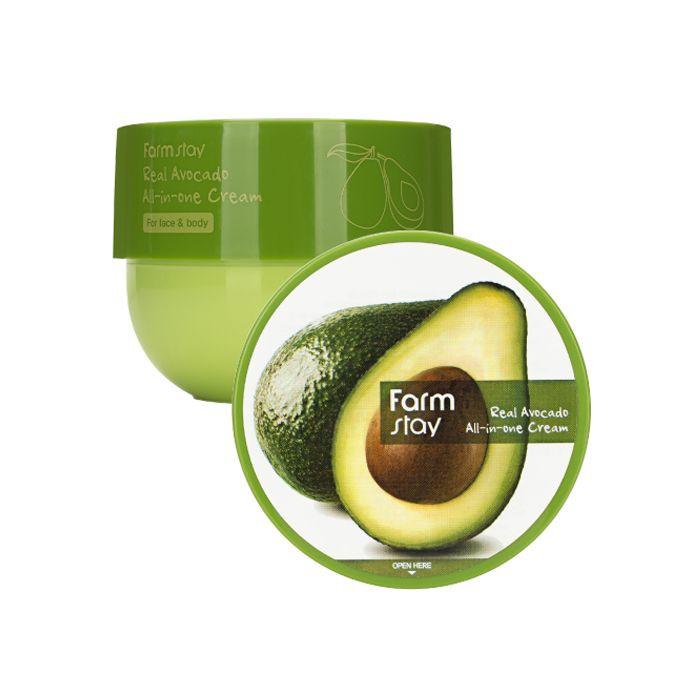 Многофункциональный крем для тела и лица FARMSTAY Real Avocado All-In-One Cream