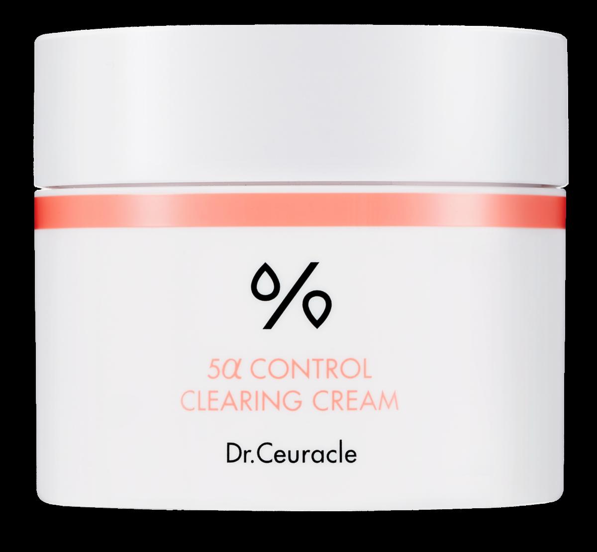 Гель-крем для проблемной кожи DR. CEURACLE 5α Control Clearing Cream