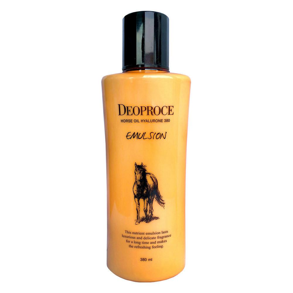 Эмульсия для лица DEOPROCE Horse Oil Hyalurone Emulsion