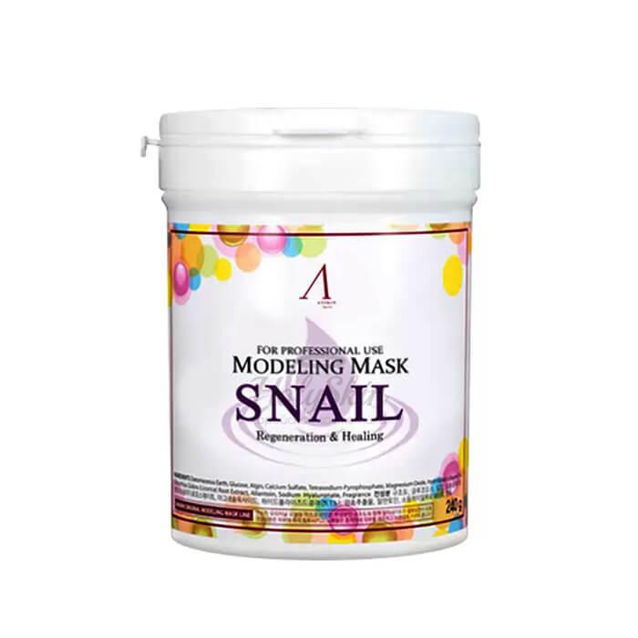 Маска альгинатная для лица ANSKIN Snail Modeling Mask