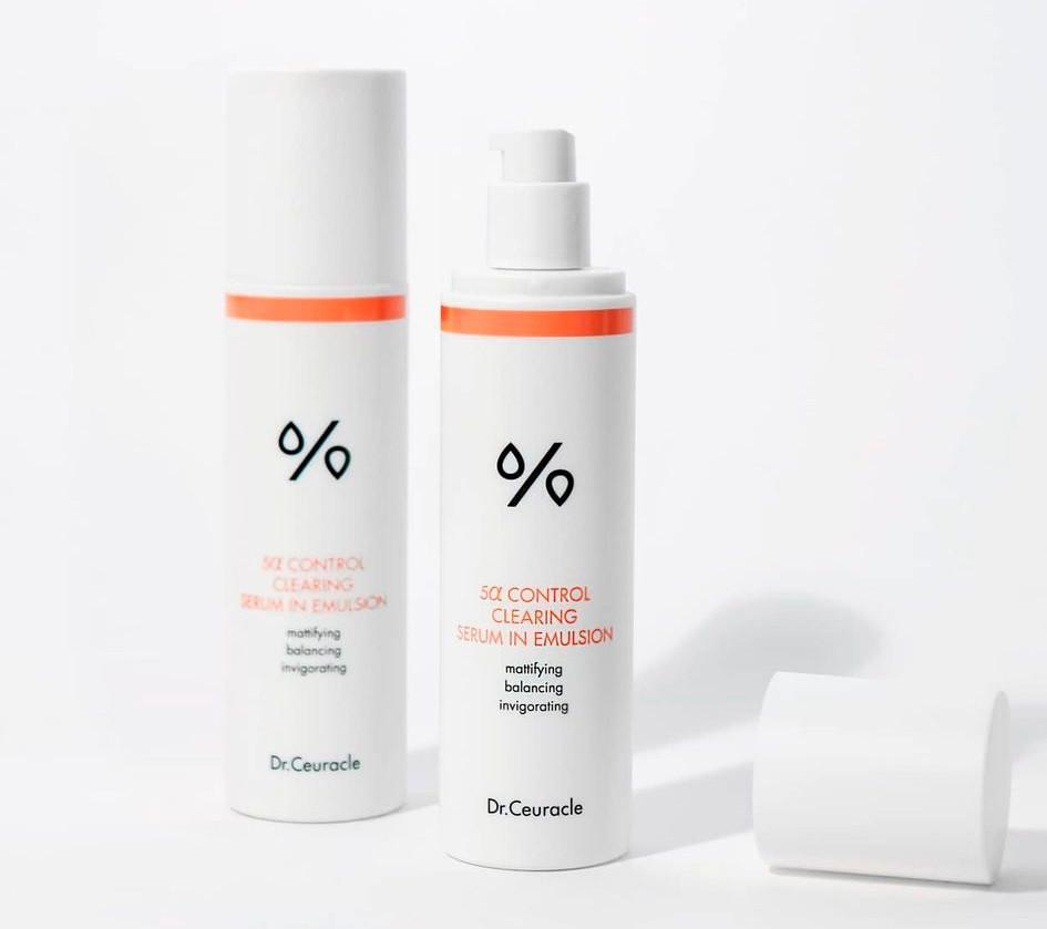 Эмульсия для лица DR. CEURACLE 5α Control Cleansing Serum in Emulsion