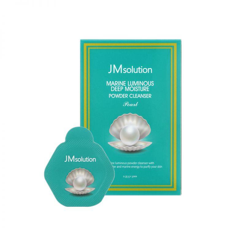 Энзимная пудра JM SOLUTION Marine Luminous Deep Moisture Powder Cleanser Pearl
