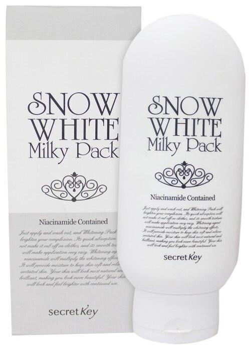 Маска для лица SECRET KEY Snow White Milky Pack