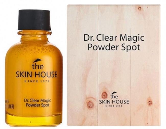 Точечное средство от воспалений THE SKIN HOUSE The Skin House Dr. Clear Magic Powder Spot