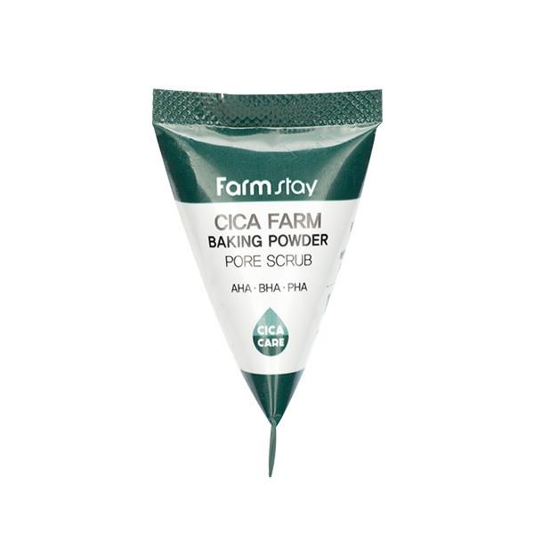 Скраб для лица FARMSTAY Cica Farm Baking Powder Pore Scrub