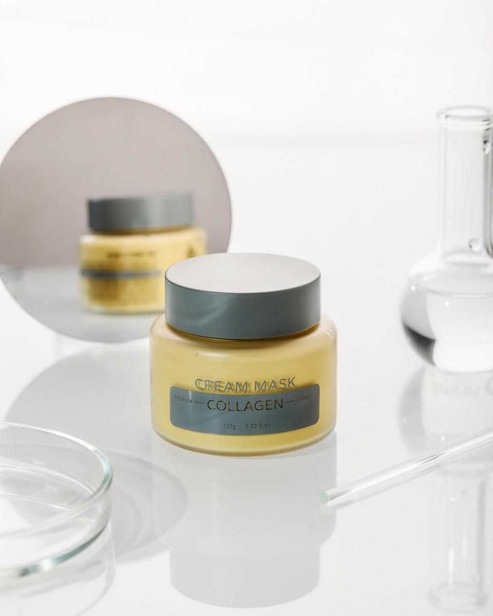 Маска для лица YU-R Cream Mask Collagen