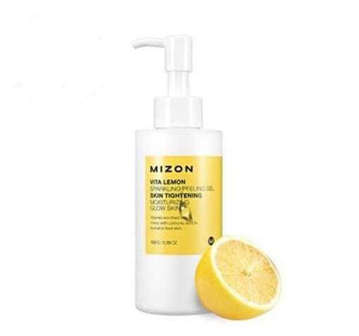 Пилинг-гель для лица MIZON Vita Lemon Sparkling Peeling Gel