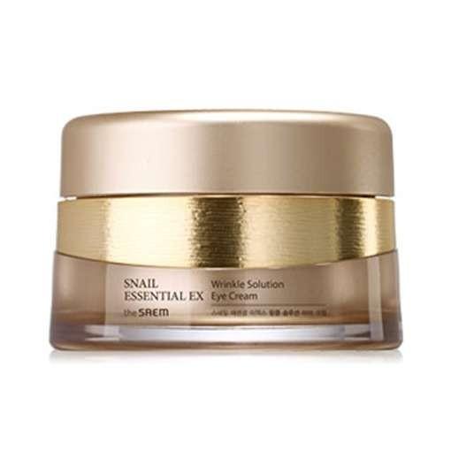 Крем для глаз THE SAEM Snail Essential EX Wrinkle Solution Eye Cream