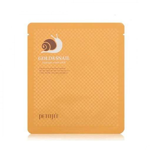 Маска для лица PETITFEE Gold & Snail Hydrogel Mask Pack