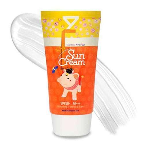Солнцезащитный крем для лица ELIZAVECCA Milky Piggy Sun Cream SPF50+ PA+++