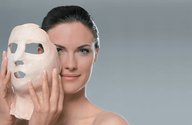 Эффект от альгинатной маски - фото